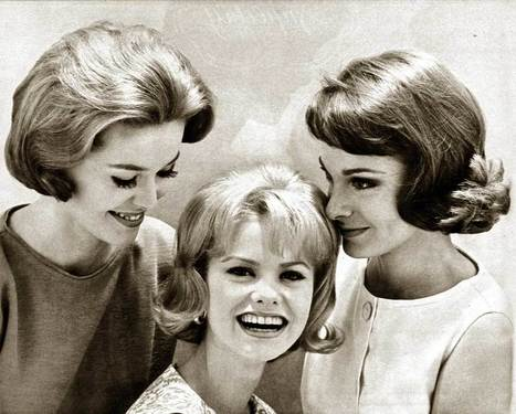 1960s Hairstyles – Six Popular Coiffures in 1962 | Glamourdaze | 1962 - the year | Scoop.it