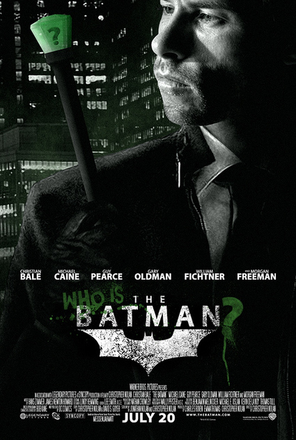 Who is the Batman: des affichent réalisées par un fan de Nolan | High Tech | Scoop.it