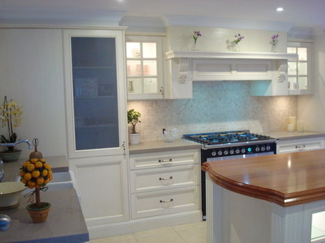 Handpaint French Provincial Kitchen Chatswood | Kitchens | Scoop.it