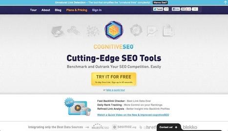 CognitiveSEO , cinco herramientas en una sola. Diego Díez Arnaiz | AidaMm | Scoop.it