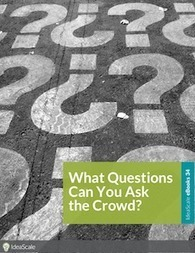What Questions Can You Ask the Crowd | Social Media, Blogs, Marketing, Communications | Scoop.it