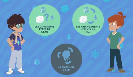 Journée Mondiale de l'Eau : Jeu & animation L'eau dans tous ses états (solide, liquide et gazeux) | MONA-BANK | Scoop.it
