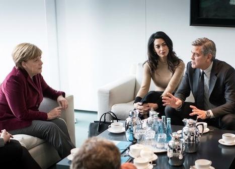 Hollywood Actor George Clooney Lobbies Merkel On Migrants - Breitbart | Global politics | Scoop.it