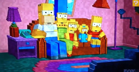 The Simpsons Look Much Creepier in 'Minecraft' Form | Top Stories | Scoop.it