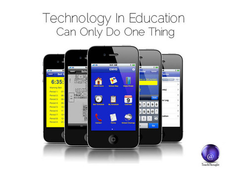 Technology In Education Can Only Do One Thing | SteveB's Social Learning Scoop | Scoop.it