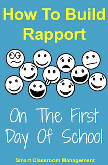 How To Build Rapport On The First Day Of School | Smart Classroom Management | Cool School Ideas | Scoop.it