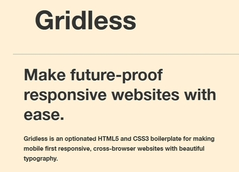 10 Best Responsive HTML5 CSS Frameworks 2014 - Tech96 | Top 10 List | Scoop.it