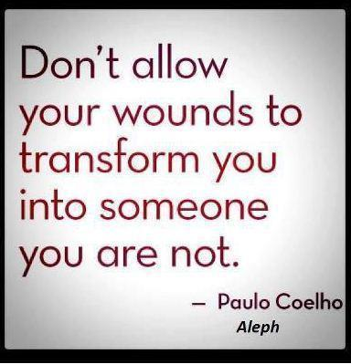 Don't allow your wounds…by PauloCoelho. | Favorite Quotes. | Scoop.it
