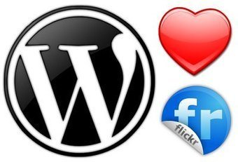 Quick & Easy Flickr Integration For Your WordPress Blog   WordpressEd   Scoop.it