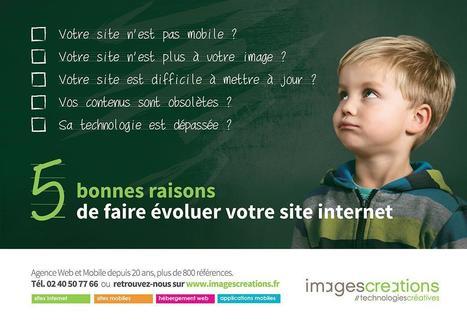 5 Bonnes Raisons de faire évoluer votre site internet | Suivez (#téléchargez !)  le guide ! | imagescreations | Scoop.it