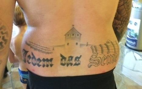 Vu à la piscine avec un tatouage représentant Auschwitz, un politique allemand est condamné à une peine de prison avec sursis | livres allemands -  littérature allemande - livres sur l'Allemagne | Scoop.it