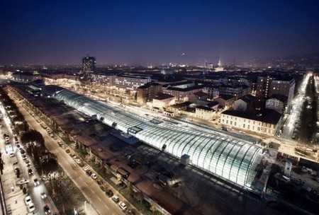 [Turin, Italy] Porta Susa TGV Station / Silvio D´Ascia | The Architecture of the City | Scoop.it