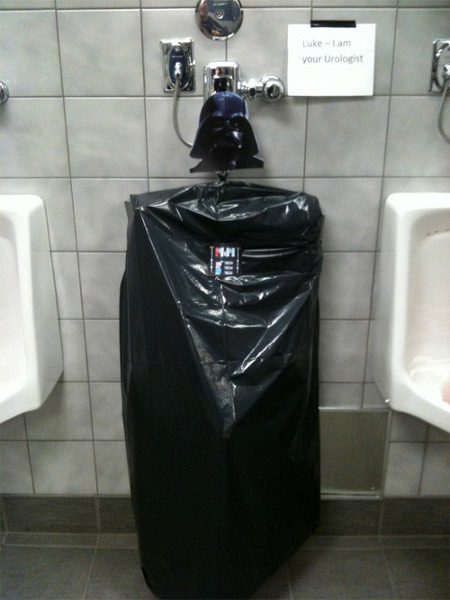 A Darth Vader Urinal | All Geeks | Scoop.it