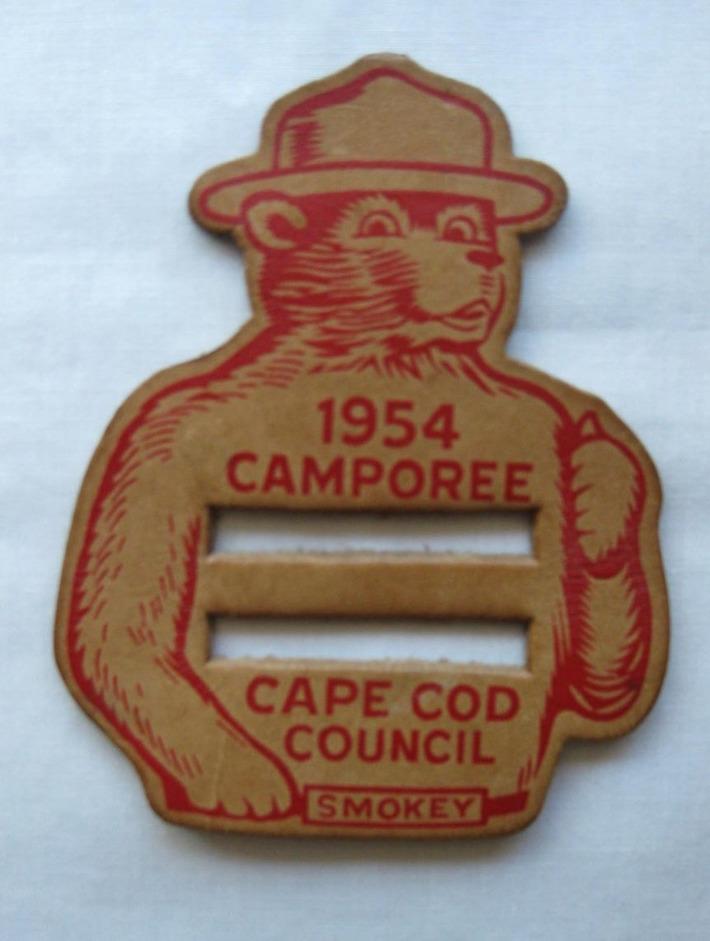 1954 Leather Boy Scout Camporee Belt Buckle | Antiques & Vintage Collectibles | Scoop.it