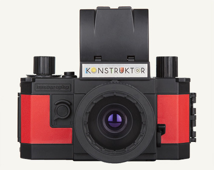 Lomography dévoile le Konstruktor, un appareil photo reflex à construire soi-même | Geek in your face | Scoop.it