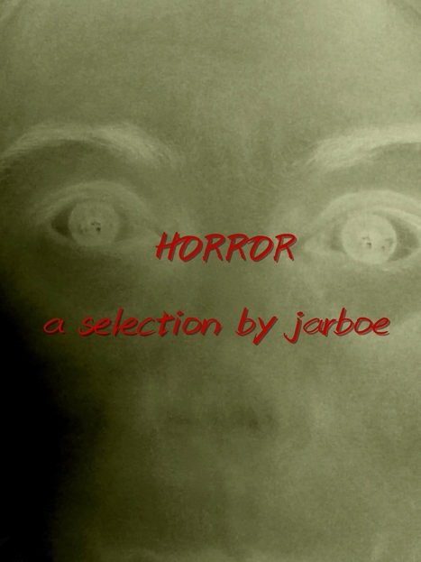 """HORROR - (click for audio samples)a Halloween and other gatherings spooky """"mix tape"""" selection by jarboe from previous albums 320Kbps mp3 download - The Living Jarboe 