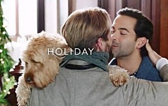 "Nordstrom ""The Homecoming"" Holiday Commercial Features Gay Male Kiss 