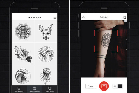 App lets you 'try on' tattoo before you ruin your body forever | Kickin' Kickers | Scoop.it