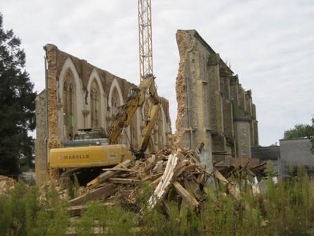 La chapelle Saint-Louis démolie à Yvetot | L'observateur du patrimoine | Scoop.it