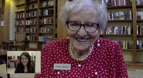 Video chats connect language students with native seniors looking for conversation | Collaborative e-Learning | Scoop.it