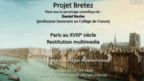 ÉCOUTEZ Paris au XVIIIe siècle ! | URBANmedias | Scoop.it