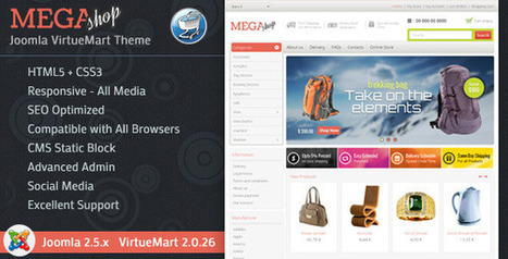 Mega Shop - VirtueMart Responsive Joomla Themeforest Latest Version - Template1st.com | Free Themes Premium | Scoop.it