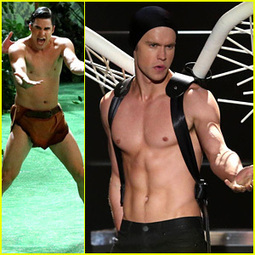 Chord Overstreet: Shirtless as Lady Gaga in New 'Glee' Stills! - Just Jared   GLEE -  French Dubbing by VF PRODUCTIONS   Scoop.it