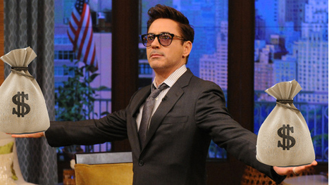 Robert Downey Jr. to Be Iron Man Forever, Make All the Money | Crap You Should Read | Scoop.it