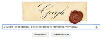 #followanarchive: Googledoodle for International Archives Day 2013? | The Information Professional | Scoop.it