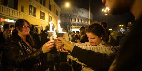 Italian Gay Youth's Suicide Prompts Candle-Lit Vigil Outside Rome's Colosseum | LGBT Youth | Scoop.it