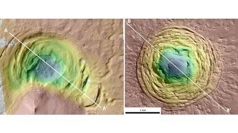 Individuata su Marte un depressione a imbuto: potrebbe celare tracce di vita | Marte | Scoop.it