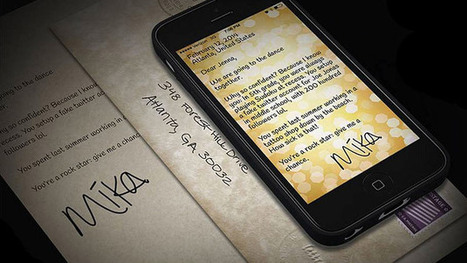 You've Sent Mail: A Letter-Writing App Forces Users to Slow Down - Businessweek | Content Strategy | Scoop.it