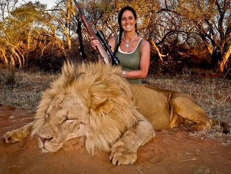 We're right to be shocked by Melissa Bachman's photo with a hunted lion | Personal Power | Scoop.it