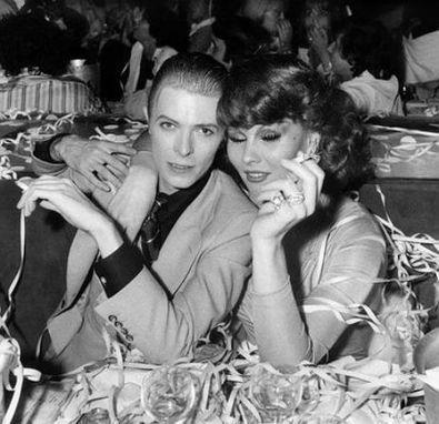 David Bowie's transgender muse Romy Haag (2015) | B-B-B-Bowie | Scoop.it