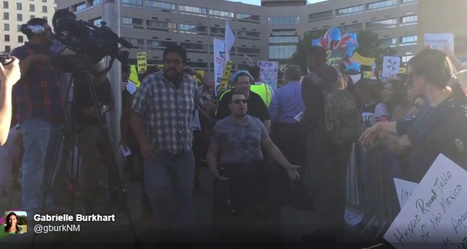 Disabled Trump Supporter Assaulted By Protesters - Patriot Tribune | Conservative Politics | Scoop.it