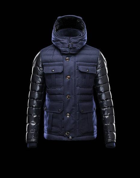 Sortie Moncler Hommes Veste Nicholas Bleu En ligne | Fashion world! | Scoop.it