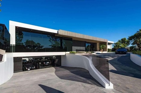 Take a tour inside the $85-million home for sale in Beverly Hills | Architecture and Interior Design | Scoop.it