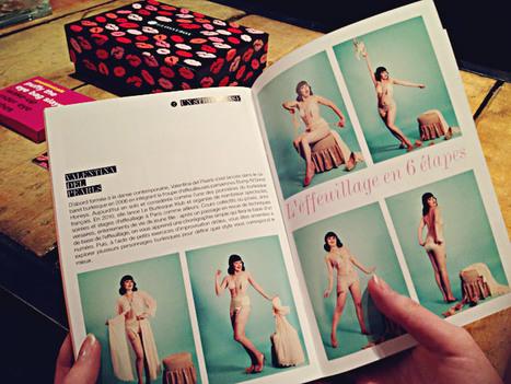 Valentina del Pearls dans Glossy Magazine | Valentina del Pearls (Le Burlesque Klub) | Scoop.it