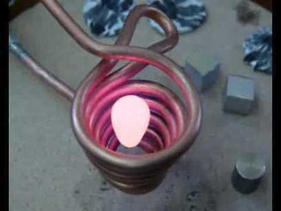Faire fondre du métal avec un électroaimant | nawak | Scoop.it