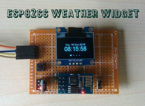ESP8266 Weather Widget   Arduino, Netduino, Rasperry Pi!   Scoop.it