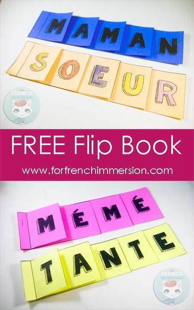 French Mother's Day Resources & FREE Flip Book - For French Immersion | Primary French Immersion Education | Scoop.it