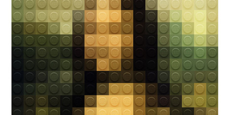 Lego Mona Lisa Is Way Cooler Than We Expected | Daily Magazine | Scoop.it