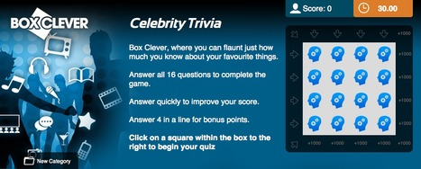 Celebrity Trivia Quiz | Box Clever | QuizFortune | Quiz Related Biz - Social Quizzing and Gaming | Scoop.it