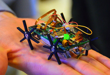 Miniature Quadruped Robot Is Blazingly Fast And Travels At Over 30 Body Lengths Per Second | Amazing Science | Scoop.it