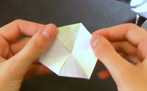 Try This Brain Bending Origami Trick [VIDEO] - Mashable | Whole Brain Leadership | Scoop.it