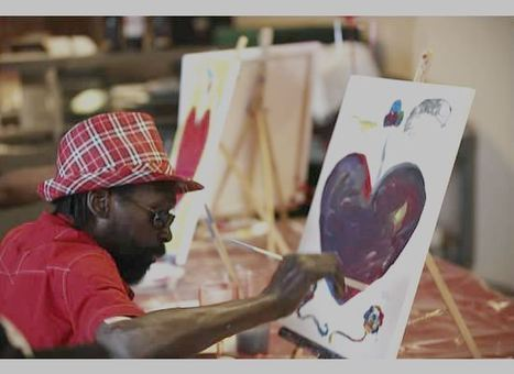 Art And Recovery Connect With Art From The Heart - CBS Local | The Art World | Scoop.it