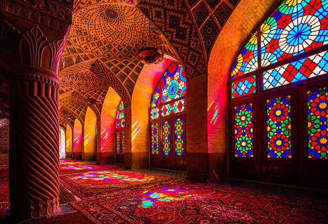 Stunning Mosque In Iran Becomes A Magnificent Kaleidoscope When The Sun Rises | 16s3d: Bestioles, opinions & pétitions | Scoop.it