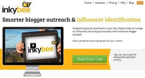Affordable Blogger Outreach Solution Inkybee for Finding Relevant Blogs | Internet Marketing | Scoop.it