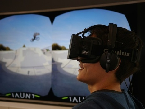 Jaunt Raises $6.8 Million for Virtual Reality Movies | Digital-News on Scoop.it today | Scoop.it