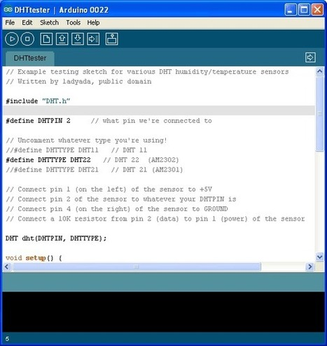 Overview | DHTxx Sensors | Adafruit Learning System | projet ardweather TPE 2013 | Scoop.it